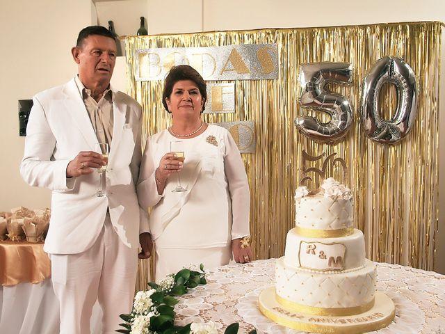 El matrimonio de Rosalba y Medardo