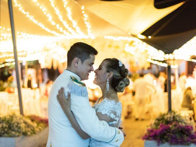 El matrimonio de Didier y Jessica