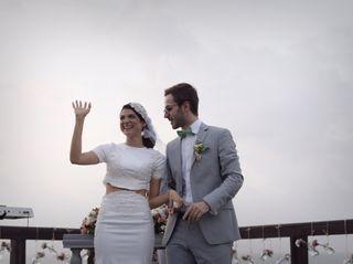 El matrimonio de Lorena y Tibho