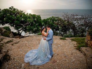 El matrimonio de Marcela y Mauricio