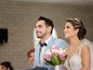 El matrimonio de Sandra y Juan
