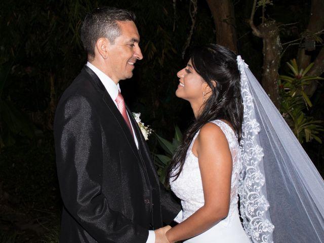 El matrimonio de Cristina y Alex