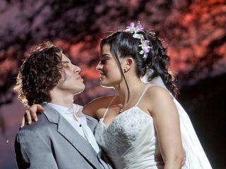 El matrimonio de Alejandro y Lina