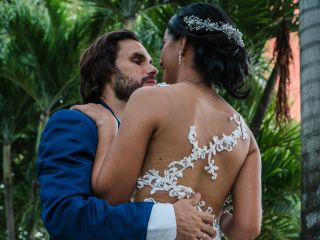 El matrimonio de Yesica y Ron