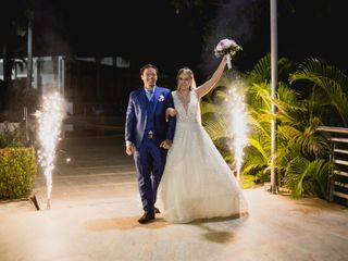 El matrimonio de Aleja y Camilo