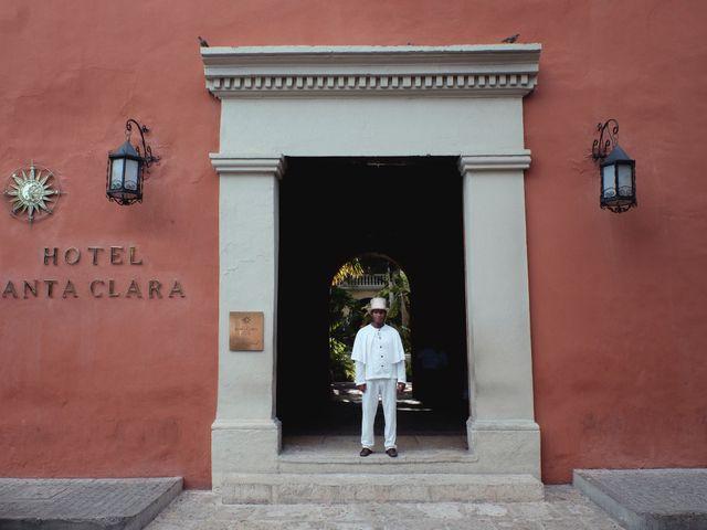 El matrimonio de Andrés y Yalena en Cartagena, Bolívar 1