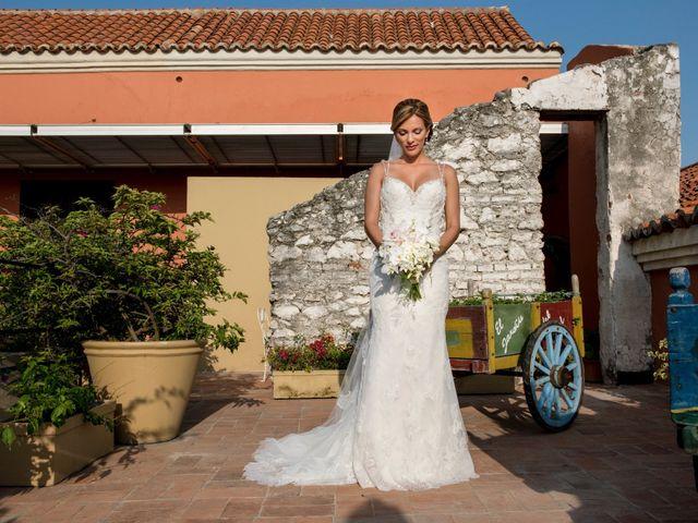 El matrimonio de Andrés y Yalena en Cartagena, Bolívar 19