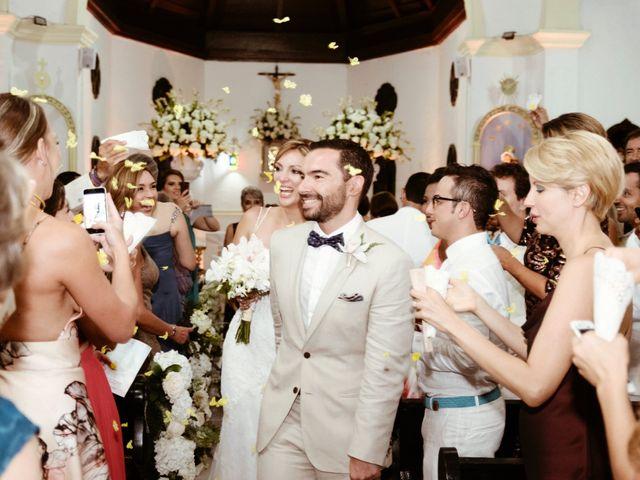 El matrimonio de Andrés y Yalena en Cartagena, Bolívar 27