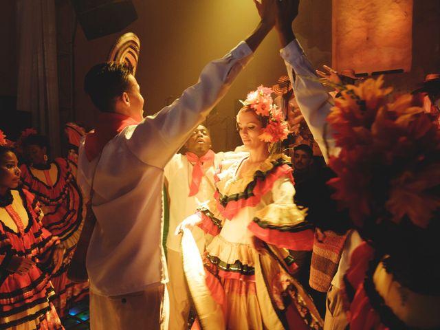 El matrimonio de Andrés y Yalena en Cartagena, Bolívar 40