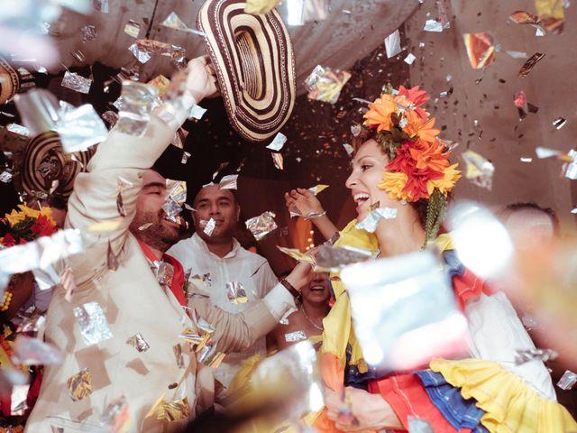 El matrimonio de Andrés y Yalena en Cartagena, Bolívar 41