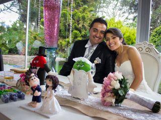 El matrimonio de Marcela y Michael