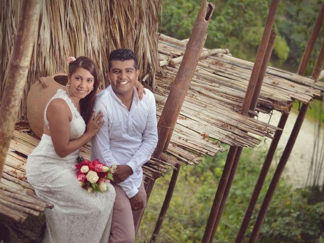 El matrimonio de Bernardo y Diana en Santa Marta, Magdalena 9