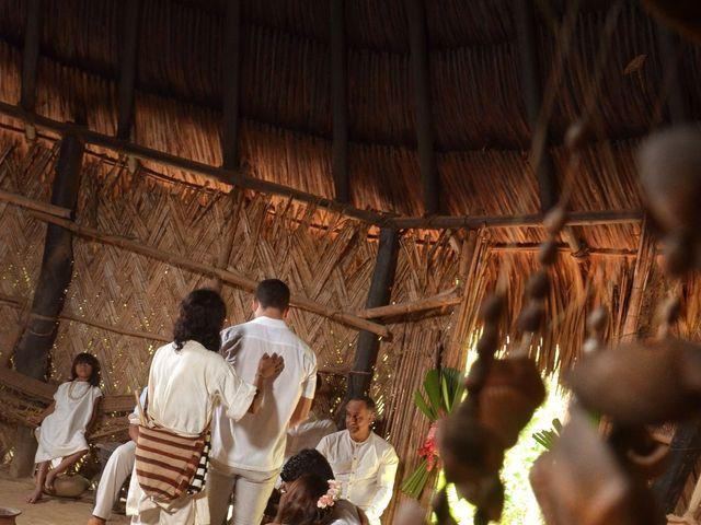 El matrimonio de Bernardo y Diana en Santa Marta, Magdalena 33