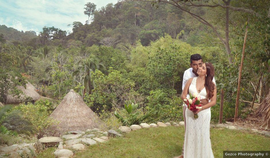 El matrimonio de Bernardo y Diana en Santa Marta, Magdalena