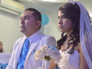 El matrimonio de Faisuris y Orlando
