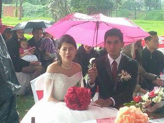 El matrimonio de Natalia  y Nelson Yair