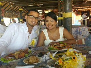 El matrimonio de Melany y Roberto