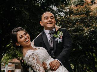 El matrimonio de Angie y Luis G
