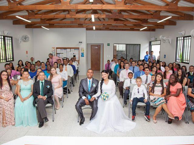El matrimonio de Luis  y Andrea