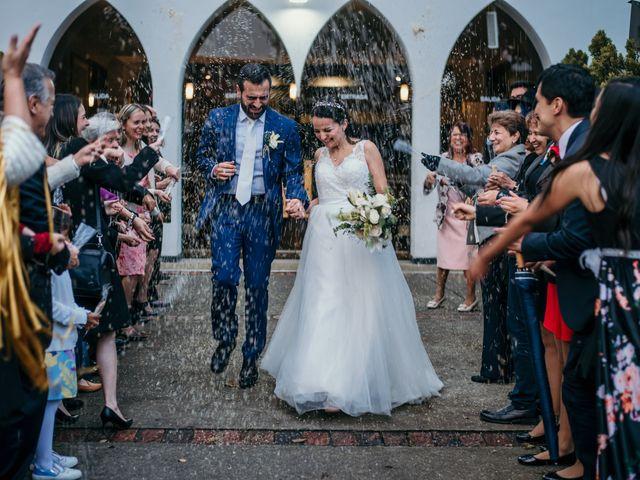 El matrimonio de Sandra y Pietro