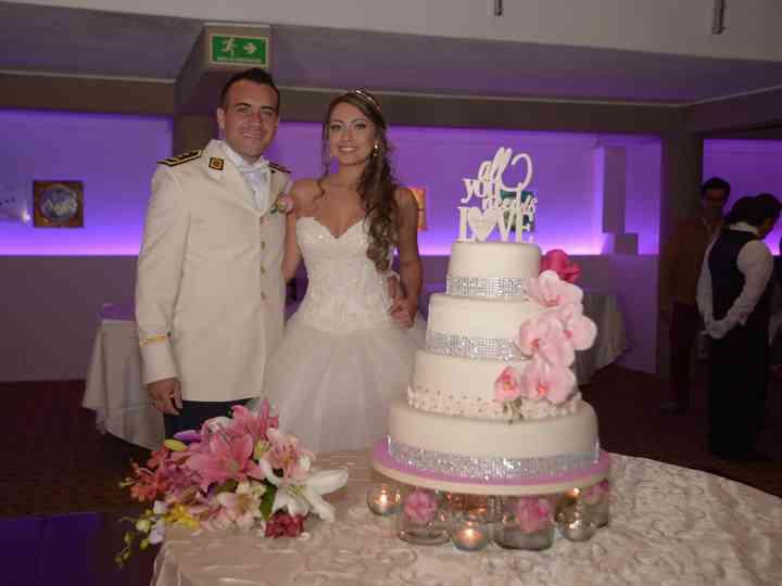 El matrimonio de Sindy y Miguel