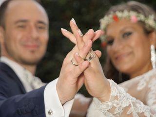 El matrimonio de Daniela y David