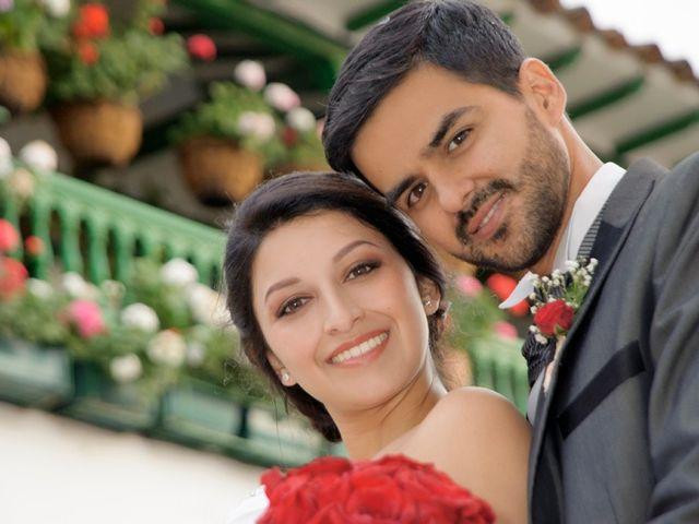 El matrimonio de Sandra y Mauricio