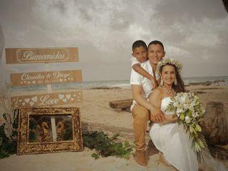 El matrimonio de Claudia y Diego 3