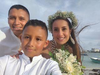 El matrimonio de Claudia y Diego