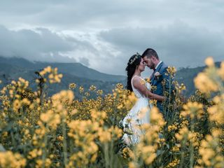 El matrimonio de Jaqueline y Andrés