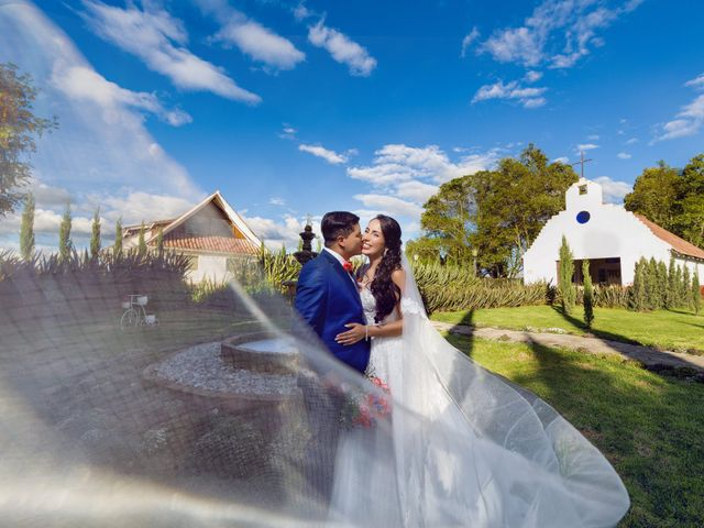 El matrimonio de Luz Dary y Diego