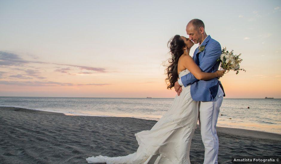 El matrimonio de Jeremy y Maria Jose en Santa Marta, Magdalena