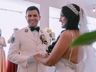 El matrimonio de Oscar y Katheryne