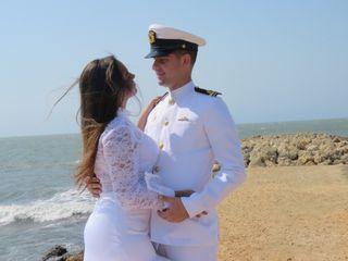 El matrimonio de María Paula y Fernando Antonio