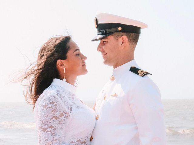 El matrimonio de Fernando Antonio y María Paula en Cartagena, Bolívar 5