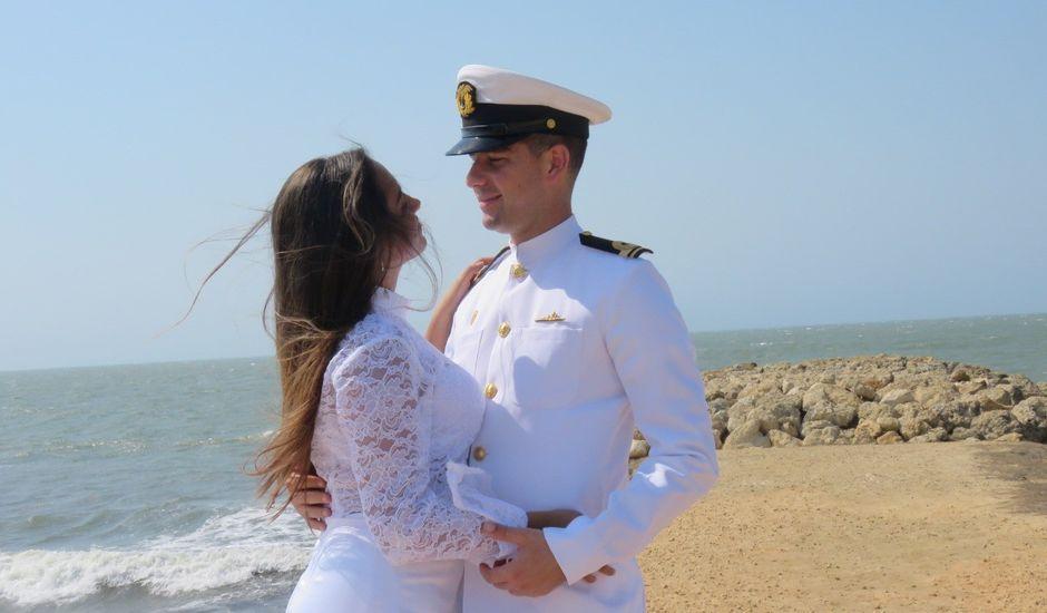 El matrimonio de Fernando Antonio y María Paula en Cartagena, Bolívar