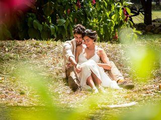 El matrimonio de Ana Maria y Francois