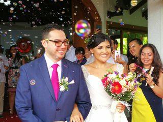 El matrimonio de Nataly y Andres