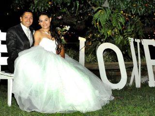 El matrimonio de Diego y Ángela