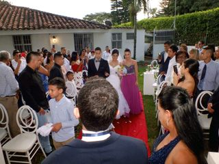 El matrimonio de Nicole  y Alejandro Qintero 1