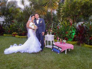 El matrimonio de Nicole  y Alejandro Qintero