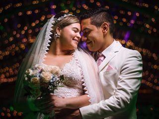 El matrimonio de Alejandra y Ángel