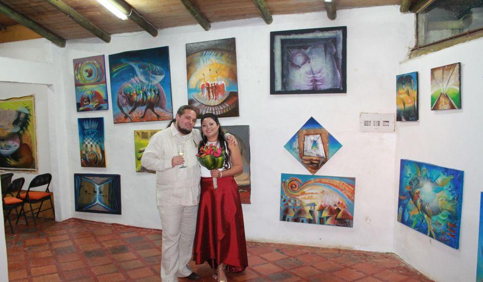 El matrimonio de Raphael y Victoria en Bogotá, Bogotá DC