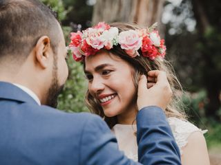 El matrimonio de Eli y Andrés