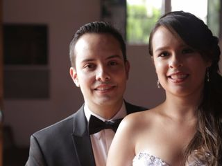 El matrimonio de David  y Marcela
