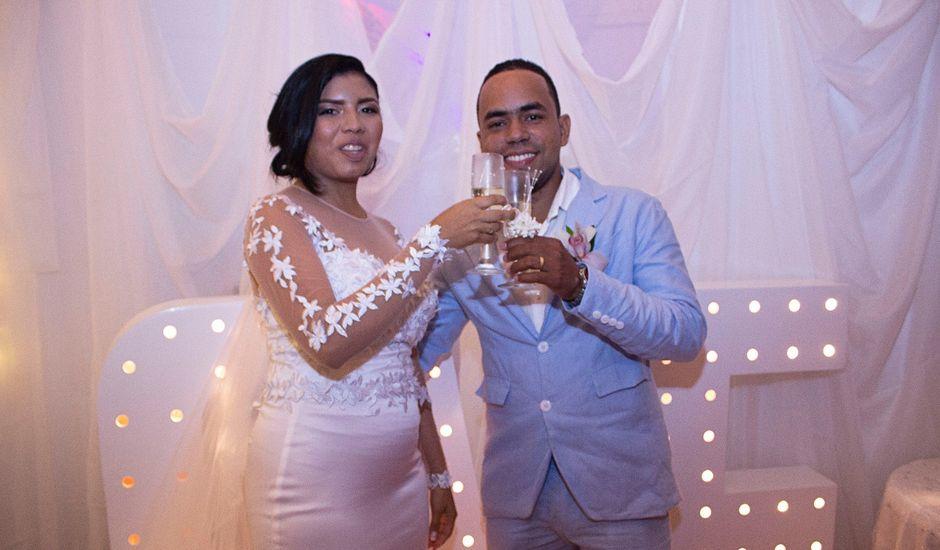 El matrimonio de Keila y Eder en Cartagena, Bolívar