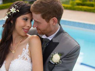 El matrimonio de Ana Cristina y Benjamin