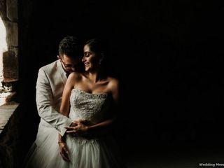 El matrimonio de María Andrea y Andrés José
