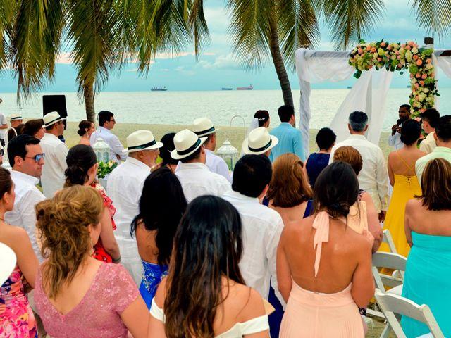 El matrimonio de Memo y Laura en Santa Marta, Magdalena 3