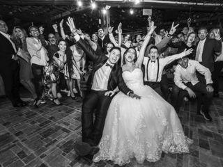 El matrimonio de Sandra  y Santiago
